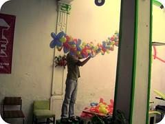 globos en ACNE