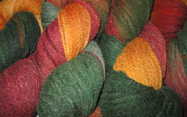 Blackberry Ridge Autumn Oak 100% Wool Medium Weight 2-ply