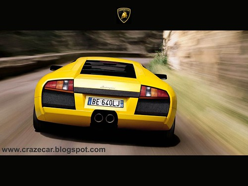 Lamborghini Murcielago Mountain Drift