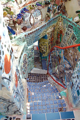 Mosaic Stairway in the Magic Gardens