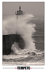 Tempte (jo.pensel) Tags: ocean lighthouse storm bretagne phare tempte finistre atlantique audierne lighthousetrek phareduraoulic