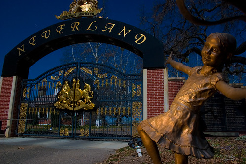 Neverland Front Gate