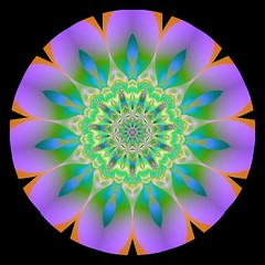 Mini Kaleid (Lynn (Gracie's mom)) Tags: abstract geometric artwork kaleidoscope abstracts kaleidoscopes geometrics cammiangel minikaleids minikaleid