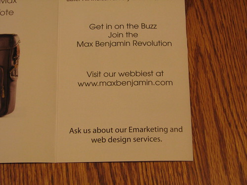 Wannabe Internet marketing company