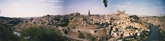 Toledo, Spain - 1993 (Brisan) Tags: travel panorama espaa skyline spain europa europe espana toledo