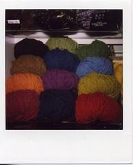 yarn (leeloo9) Tags: nyc polaroid yarnshop