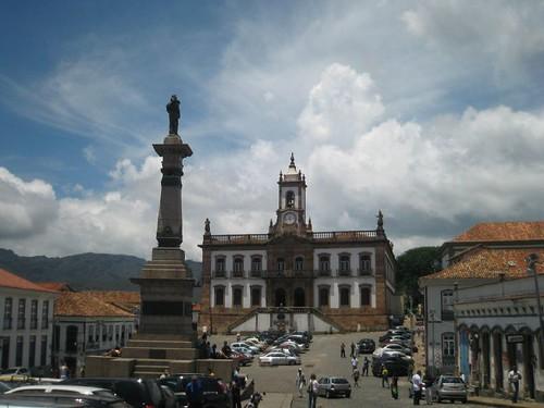 Praça de Tiradentes, Ouro Prêto por rodney j.