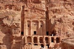 Urn Tomb, Petra (twiga_swala) Tags: archaeology urn ruins petra royal jordan kings tombs jordanie jordania nabataean giordania urdun jordani alurdun  tormb