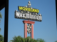 Movieland Wax Museum, a Buena Park landmark for over 43 years. (10/29/05)<br />