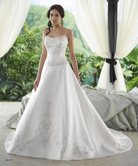 Trajes de novia baratos-971A