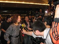 Sammi Cheng interviewed (edmundyeo) Tags: hongkong haf hkiff2008