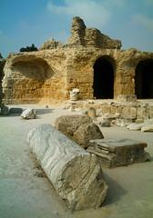 Carthage au naturel (  Pounkie  ) Tags: vacances tunisia carthage tunisie ruines vestiges heritagekey worldland