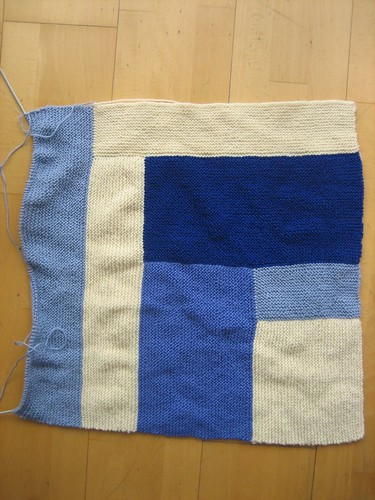 Moderne baby blanket