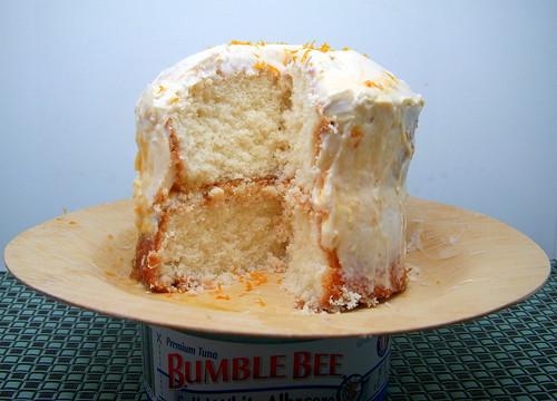 Orange Apricot White Cake