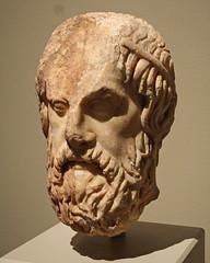 Head of Sophocles (Flagman00) Tags: sculpture rome roma archaeology sanantonio museumofart bust marble romanempire philosopher romanart spqr senatuspopulusqueromanus imperiumromanum sophoclese