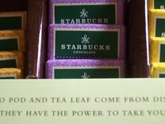Starbucks Chocolate & Tea Packaging