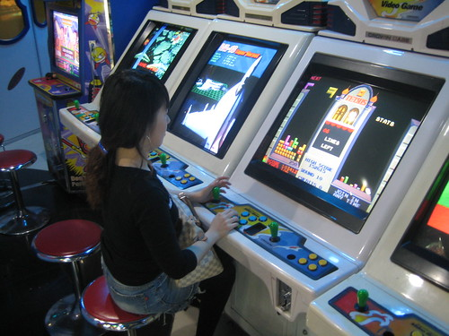 arcades in japan and korea