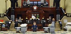 Group 4 (Klikstyle) Tags: lego batman gotham diorama vignette police gcpd foitsop