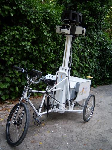 Street View Trike: Triciclos para hacer capturas de Street View en zonas difíciles 3541334465_cd8924d2f3