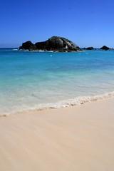 Bermuda Beach (Read2me) Tags: ocean blue sky beach water rock stone sand hero winner pog gamewinner challengeyouwinner 15challengeswinner friendlychallenges thumbsupwinner thechallengefactory yourock1stplace agcgwinner cyunanimous superherochallengewinner pregamewinnersweep pregameduelwinner challengeclubwinner