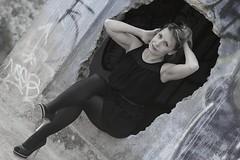 Carole - 12 (Michel Seguret Thanks all for 8.300 000 views) Tags: portrait woman france beautiful mujer nikon dress robe feminine femme charm portrt blond blonde belle bella carole frau guapa ritratto charme d800 elegance schne hrault kleid feminity feminit michelseguret