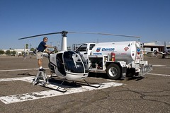 Filling Up (John A. Ferrante) Tags: digital canon photography eos airport helicopter robinson fuel heliport fbo 30d r22 flamable avgas soonershooter 100ll c2007johnalexanderferrante