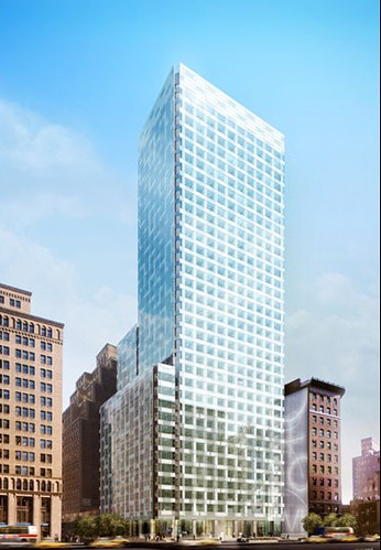 475 Park Avenue South. 475 Park Avenue South - Recladding - by Pelli Clarke Pelli Architects