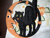 antique cat wall decoration