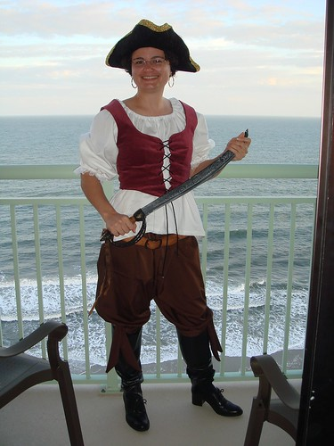Pirate on Halloween