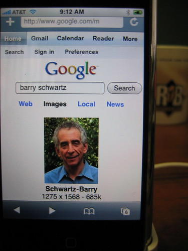 Google's New iPhone Interface