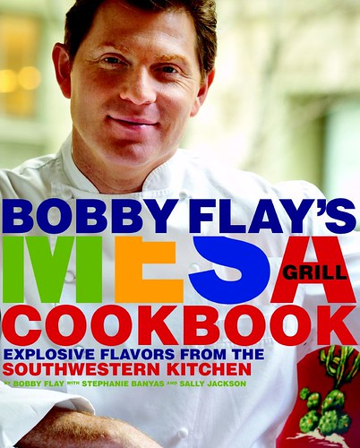 Bobby Flay's Mesa Grill Cookbook book jacket