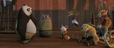 Primer trailer de 'Kung Fu Panda'