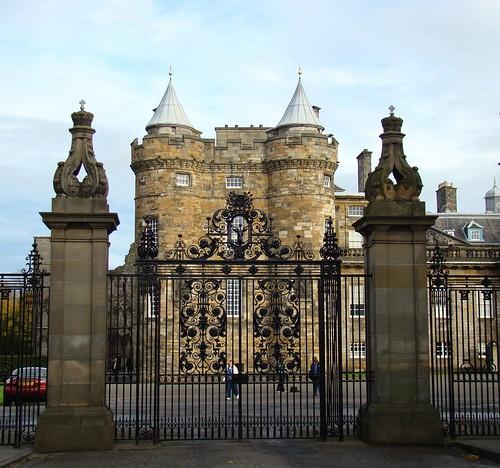 Palacio de Holyroodhouse, la residencia de la Reina de Escocia