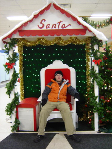 Not Santa.