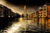 City Quay (BarneyF) Tags: city reflection water fountain liverpool quay hdr merseyside anawesomeshot diamondclassphotographer