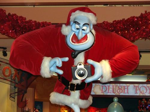 Christmas Genie the Photographer