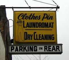 Clothes Pin Laundromat