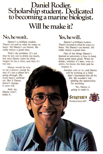 Vintage Ad #469: Will Danny Make It?
