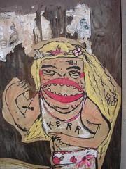 Kerr (drew*in*chicago) Tags: street wickerpark art up paper happy cool ship paste vessel trendy goons bohemian navigator goon nuevo drewinchicago