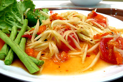 Som Tam Thai, Green Papaya Salada Thai Style