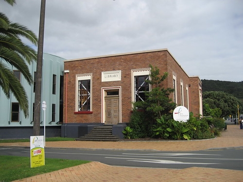 Old Whangarei library