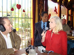 "Calvin with Virginia - Houston Business Show Live Broadcast at ""El Tiempo"" Restaurant (StealthMarketer) Tags: foxnews jennifercolon universityofhouston kevinprice mikealexander jimoneill andyvaladez stevelevine houstonneighborhoods marketingdynamics bauercollegeofbusiness houstonrealestatetoday carolebaker houstonbusinessshow houstonbusiness businessradio robbieadair donaldleonard virginiagrace joestiles johodell"