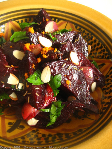 Orange and Cumin Beets Salad