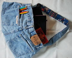 Jean bag #4