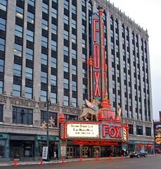 Fox Theatre (Tiz_herself) Tags: art architecture nikon neon michigan detroit fox theaters foxtheater foxtheatre roaring20s roaringtwenties detroitmichigan ilitch williamfox d40x