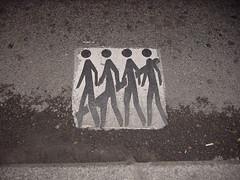 cuidado peatones