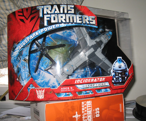 Transformers Movie Incinerator