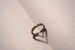 Mega Bling (snoopa) Tags: book heart ring diamond platinum