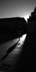 piazza castello (semaone) Tags: shadow bw woman silhouette contrast torino donna ombra bn shade sanlorenzo piazza turin contrasto castello2