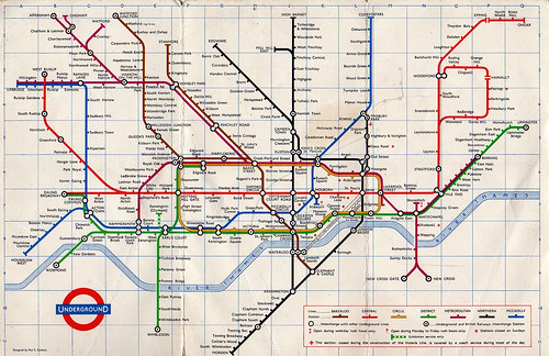 Making An Interactive SVG London Tube Map With Raphael JS - London map svg